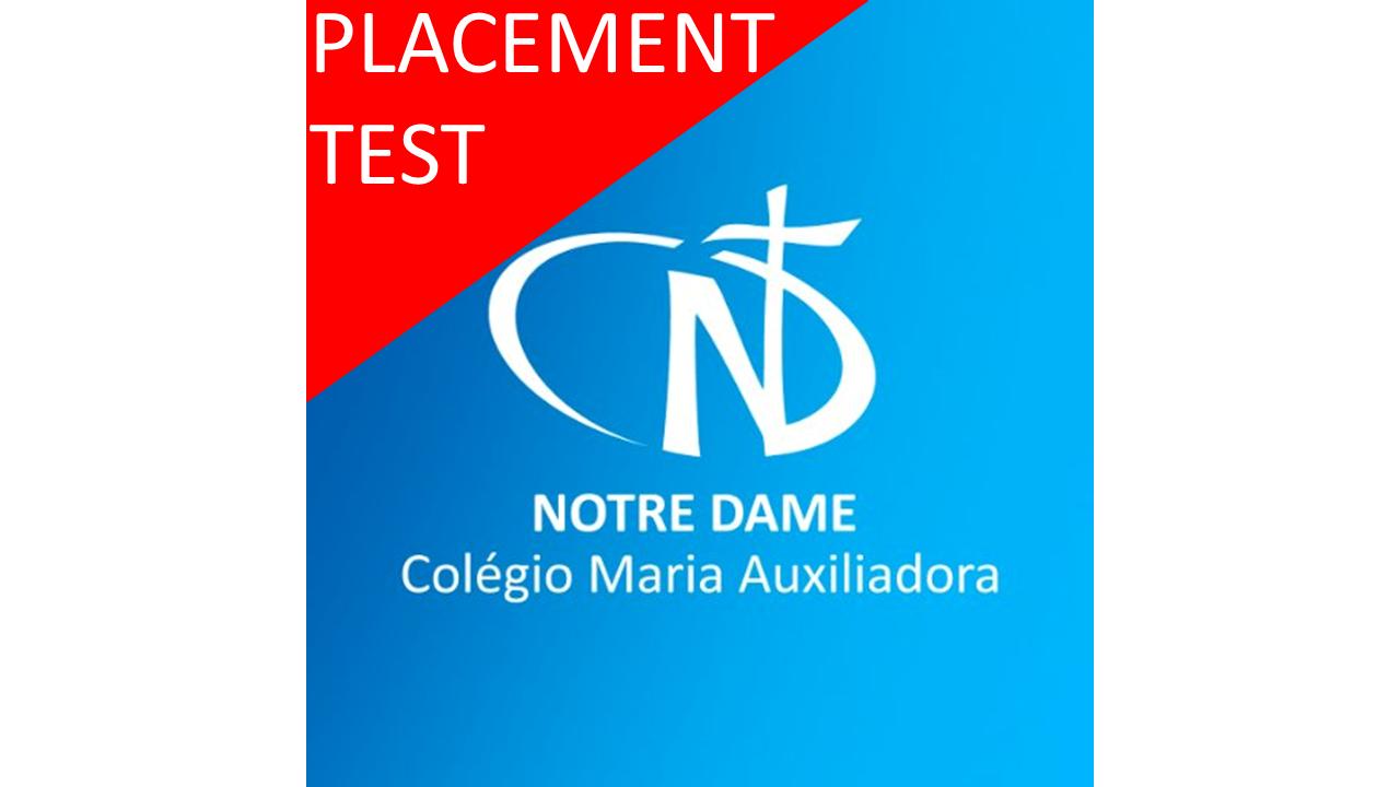 COLÉGIO MARIA AUXILIADORA - CANOAS - RS (ONLINE PLACEMENT TEST)