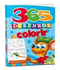 365 Desenhos Para Colorir - 02 Ed