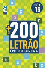 Mais De 200 Letrao E Muitos Outros Jogos - Nivel Medio - Vol 15