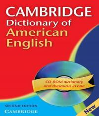 Cambridge Dictionary Of American English - With Cd-rom - 02 Ed