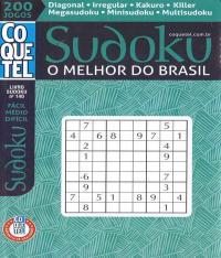 Sudoku O Melhor Do Brasil - Facil / Medio / Dificil - Vol 140