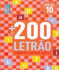 Mais De 200 Letrao E Muitos Outros Jogos - Nivel Medio - Vol 10