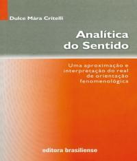 Analitica Do Sentido - 02 Ed