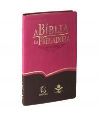 BIBLIA DA PREGADORA, A - CAPA PINK E MARROM