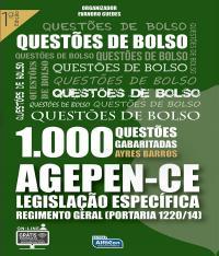 Questoes De Bolso Agepen-ce 1000 Questoes Gabritadas