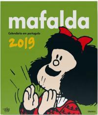 MAFALDA - CALENDARIO PAREDE - 2019 - VERDE
