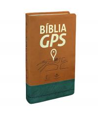 BIBLIA GPS - CAPA MARROM E VERDE - NTLH