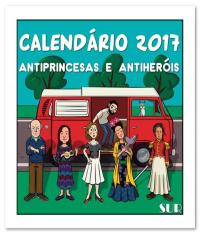 Antiprincesas - Calendario 2017 De Parede