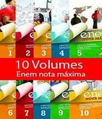 Caixa Enem Nota Maxima - 10 Vols