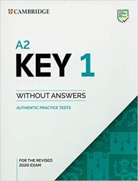 A2 KEY 1 REV EXAM 2020 STUDENT BOOK W/O ANSW