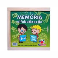 MEMORIA ALFABETO CX MADEIRA - 1012