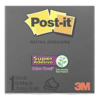 BLOCO ADESIVO 76X76 90FLS PRETO POST-IT 654 - HB004604466