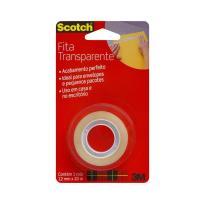 FITA ADESIVA 12X20 TRANSPARENTE SCOTCH - HB004570626