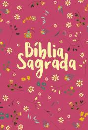 BÍBLIA NVT LETRA NORMAL - PEQUENO JARDIM (PINK)