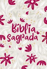 BÍBLIA NVT LETRA NORMAL - JARDIM DA VIDA (CREME)