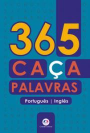 365 CAÇA-PALAVRAS PORTUGUÊS-INGLÊS