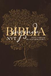BÍBLIA NVT LETRA GRANDE: CAPA SOFT TOUCH - ÉDEN MARROM