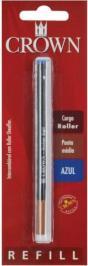 CARGA CROWN P/ ROLLERBALL TIPO SHEAFFER AZUL BLISTADA - CA22007A