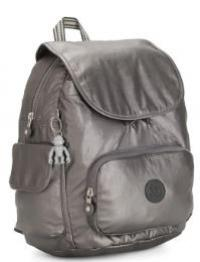 MOCHILA KIPLING CITY PACK S CARBON METALLIC CINZA - I353929U