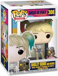 BIRDS OF PREY HARLEY QUINN AND BEAVER 308 - FUNKO