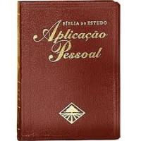 BIBLIA DE ESTUDO APLICACAO PESSOAL GRANDE VINHO