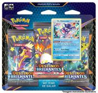 POKEMON BLISTER TRIPLO DESTINOS BRILHANTES