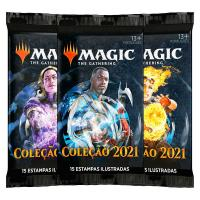 MAGIC THE GATHERING - COLECAO BASICA 21 DRAFT BOOSTER