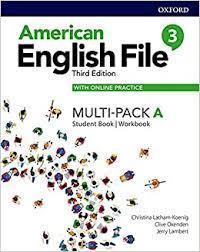 AM ENGLISH FILE 3ED (DIGITAL PK) 1 STUDENT BOOK/WORKBOOK