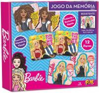 BARBIE JOGO DA MEMORIA 12 PARES (24 PCS) CARTONADO - FUN