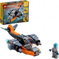 CREATOR 3 EM 1 CIBERDRONE 113 PECAS 31111 - LEGO
