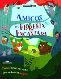 AMIGOS DA FLORESTA ENCANTADA: REVELE ANIMAIS ESCONDIDOS COM SUA LANTERNA MÁGICA!