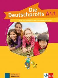 Die Deutschprofis A1.1. - Kursbuch Mit Mit Audios Und Clips Online