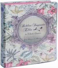 Biblia Sagrada Ella De Estudo Conciso - Capa Floral