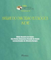Analise Do Discurso Ecologica Ade - Vol 09