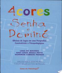4 Cores - Senha E Domino - Caderno De Atividades