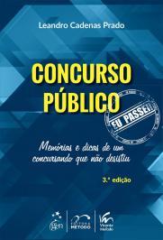 Concurso Publico - Eu Passei - 03 Ed