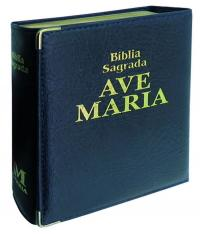 Biblia Luxo Capanga - Bolso - Capa Azul