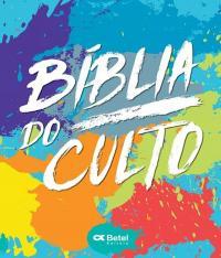 Biblia Do Culto - Capa Tintas - Letra Media Grande