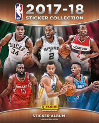 ALBUM NBA - 2017-18 - STICKER COLLECTION